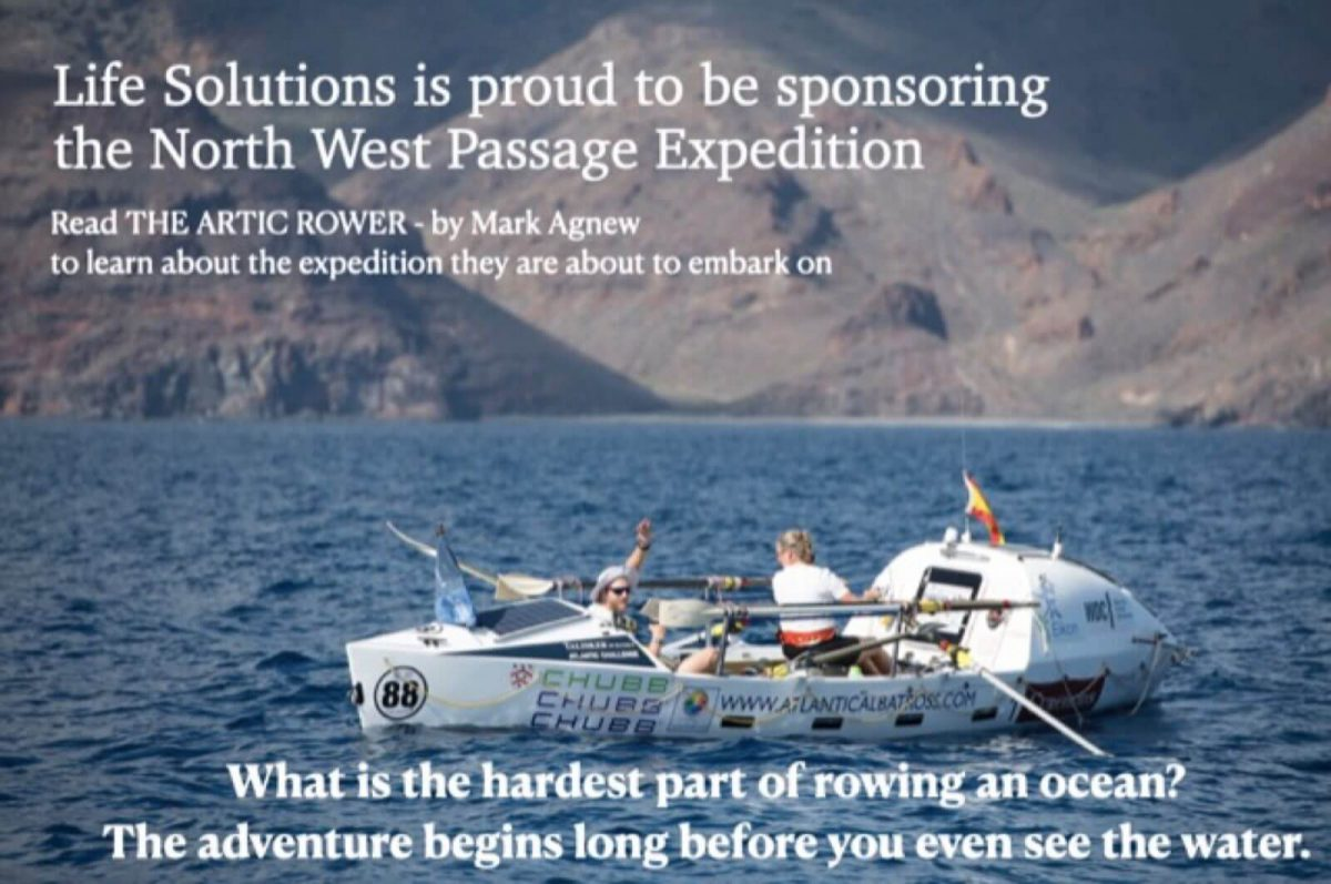 Life Solutions is proud to be sponsoring the North West Passage Expedition